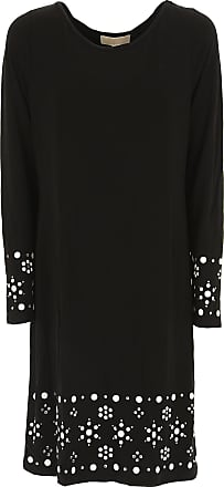 Dress for Women, Evening Cocktail Party On Sale, Black, Viscose, 2017, 6 8 Michael Kors