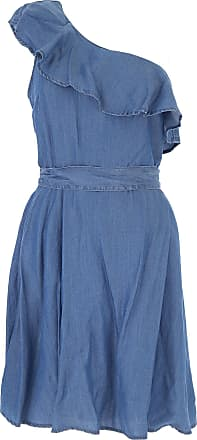Dress for Women, Evening Cocktail Party On Sale, Denim, lyocell, 2017, 10 12 14 6 8 Michael Kors