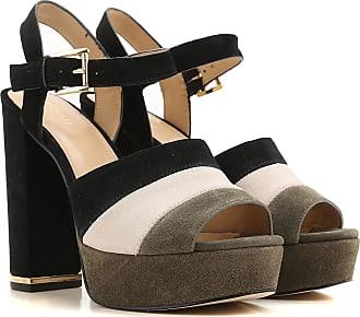 Zapatos de Mujer Baratos en Rebajas Outlet, Oro/Dorado, Piel, 2017, 37 Michael Kors