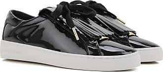 Sneakers for Women On Sale, Black, Leather, 2017, US 9 (EU 40) US 9.5 (EU 40.5) Michael Kors
