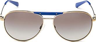 Michael Kors Sonnenbrille Mk5001, UV 400, golden/blau