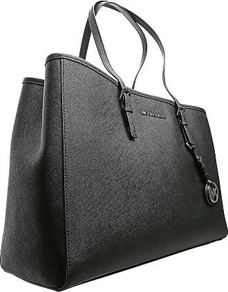 Michael Kors Shoulder Bag for Women On Sale, Black, Leather, 2017, one size