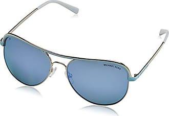 Michael Kors Unisex-Erwachsene Playa Norte Sonnenbrille, Schwarz (Black/Silver 103311), 57