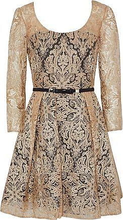 Mikael Aghal Woman Butterfly Embroidered Tulle Dress Violet Size 0 Mikael Aghal dOpovI