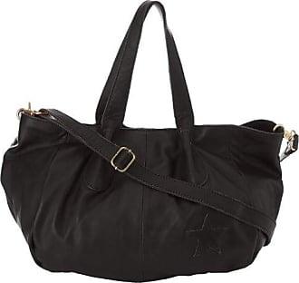 Mila Louise Ianthe, Sac porté épaule - Noir (Cuir Noir), Taille Unique