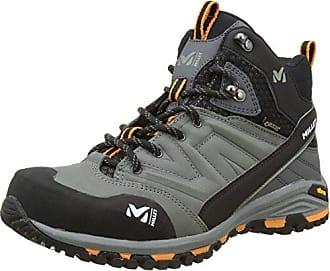 MILLET High Route GTX, Chaussures de Randonnée Hautes Homme, Noir (Charcoal/Acid Green), 42 2/3 EU