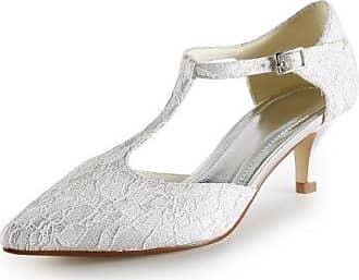 Minitoo , Damen Durchgängies Plateau Sandalen mit Keilabsatz , Beige - beige - Größe: 39