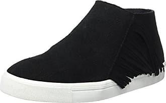 Minnetonka Damen Gwen Bootie Slip on Sneaker, Schwarz (Black Black), 42 EU