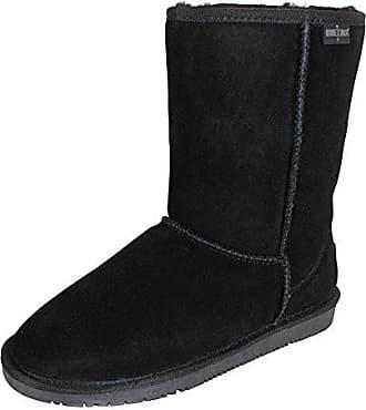 Minnetonka Back Zipper Boot Black, Schuhe, Stiefel & Boots, Chelsea Boots, Schwarz, Female, 36