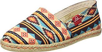 MISS HAMPTONS Strawberry, Espadrillas Basse Donna, Multicolore (Muticolor), 36 EU