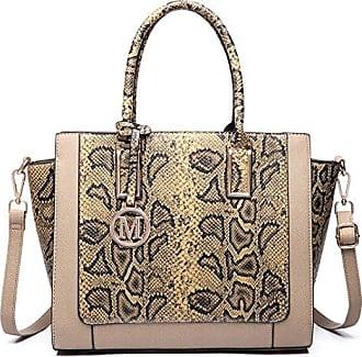 Handtasche Schultertasche Diagonal Paket Damen Tasche Mode Einfache Atmosphäre Elegant,Black-OneSize GKKXUE