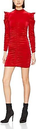 Miss Selfridge Bethany, Vestido para Mujer, Rojo (Red Red), 40