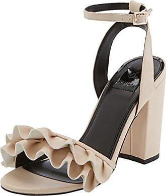 Miss Selfridge Lucky Zapatos de Tacón con Punta Cerrada Mujer, Gris, 37 EU (4 UK) Miss Selfridge