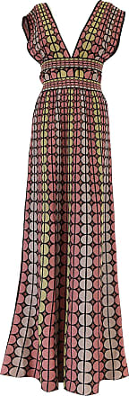Dress for Women, Evening Cocktail Party On Sale, Multicolor, Cotton, 2017, 10 12 8 Missoni