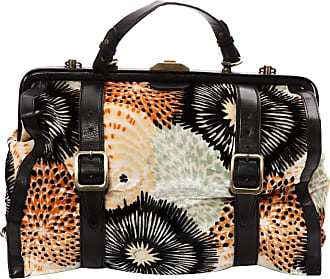 Missoni Top Handle Handbag On Sale, Black, Fabric, 2017, Universal Size