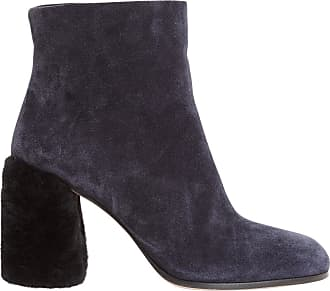 Boots for Women, Booties On Sale in Outlet, Garnet, Suede leather, 2017, 5.5 Miu Miu