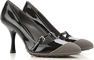 Pumps & High Heels for Women On Sale, Black, Patent Leather, 2017, 3.5 4 4.5 5 6.5 Miu Miu