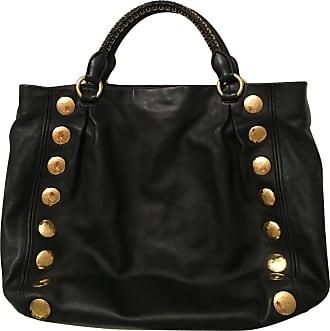 gebraucht - Große Handtasche - Damen - Schwarz - Leder Miu Miu Zznnqk9
