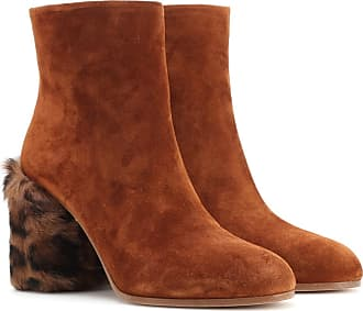 Boots for Women, Booties On Sale in Outlet, Leopard, Fur, 2017, 7.5 Prada
