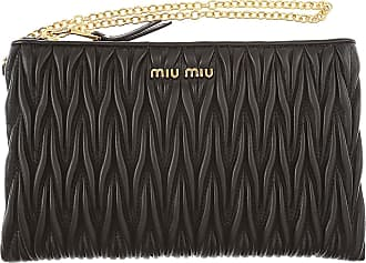 Womens Pouch On Sale, antique pink, Leather, 2017, one size Miu Miu