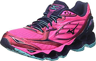 Mizuno Wave Hayate (w), Chaussures de Running Femme, Multicolore (Dark Shadow/Pink Glow/Black), 38.5 EU