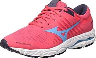 Mizuno Wave Stream Wos, Chaussures de Running Femme, Multicolore (Divapink/Aquarius/Graystone 23), 36.5 EU