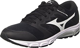 Synchro MX, Chaussures de Running Homme, Multicolore (Black/Chinesered/Tileblue), 46 EUMizuno