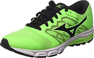 Mizuno Wave Hayate, Chaussures de Running Homme, Multicolore (Dark Shadow/Bolt/Black), 42.5 EU