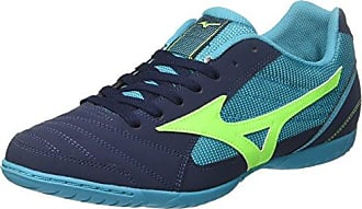 Mizuno Sala Club in, Zapatos de Futsal Para Hombre, Multicolor (Whitegreengeckodressblue), 45 EU