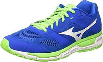 Synchro MX - Chaussures de Running Compétition - Homme - Gris (Periscope/Darkshadow/Greengecko) - 44.5 EU (10 UK)Mizuno 2DHlzzoaip