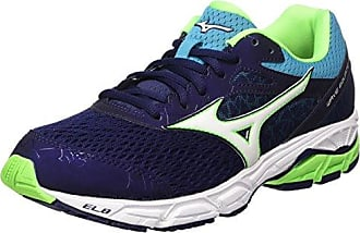 Wave Stream, Chaussures de Running Homme, Multicolore (Greengeckoblackdazzlingblue), 41 EUMizuno