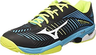 Mizuno Wave Intense Tour CC, Chaussures de Tennis Homme - Multicolore - Multicolore (White/StrongBlue/ChineseRed), 43 EU EU