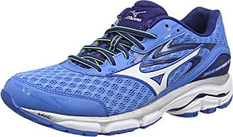 Wave Ultima 8, Chaussures de Running Compétition Femme, Rose (Fiery Coral/White/Dazzling Blue), 36 1/2 EU (4 UK)Mizuno