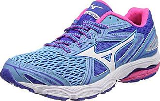 Wave Equate 2 Wos, Zapatillas de Running para Mujer, Multicolor (Patriotblue/White/Turquoise 02), 40 EU Mizuno
