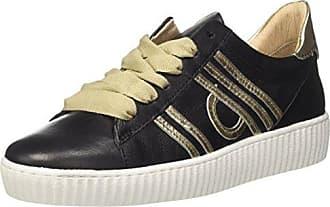 Mjus 685127-0102-0003, Zapatillas para Mujer, Multicolor (Nero+Platino 0003), 38 EU