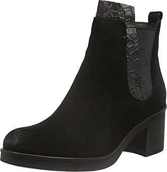 Mjus 662205-0501-6002, Pantoufles Pour Les Femmes, Noir-noir, 36 Eu
