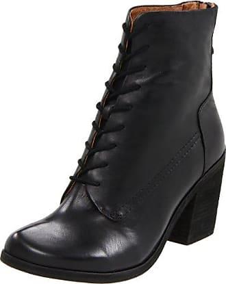 Kathy, Weite K - Botas de Caño bajo de Cuero para Mujer, Color Negro (Schwarz 0100), Talla 39 Ganter