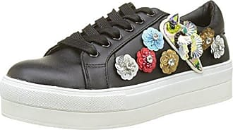 LONA01P17, Zapatillas de Estar por Casa para Mujer, Gris (DK Grey 1), 36 EU Molly Bracken