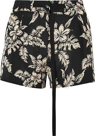 Moncler Woman Grosgrain-trimmed Floral-print Silk-twill Shorts Navy Size 38 Moncler Classic Genuine For Sale Popular Discount Low Shipping Cheapest Online oU9gM6UKCu