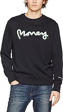Sig Ape Crew Heather, Sudadera para Hombre, Gris (High Rise High Rise), Medium Money Clothing