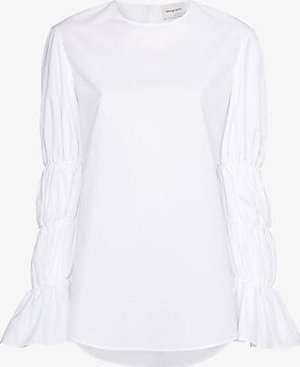 Wholesale Price fragment sleeveless top - White Monographie Paris Big Discount Online guHBhQyD