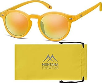 Montana MS27, Occhiali da Sole Unisex-Adulto, Multicolore (Black + Yellow + Revo Yellow), Taglia unica