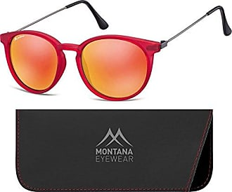 Montana MS96, Lunettes de Soleil Mixte, Multicolore (Gunmetal + Revo Silver Mirror), Taille Unique