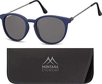 Montana MP41, Lunettes de Soleil Mixte, Multicolore-Multicoloured (Navy Blue/Smoke Lenses), Taille Unique