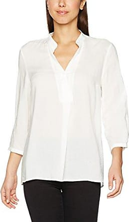 Mavi BLOUSE WITH POCKETS; cream - Blusa, con manga larga para mujer, color elfenbein (elfenbein 20076), talla 42