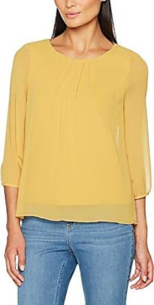 Warehouse 28547, Blusa para Mujer, Amarillo, 36 (Talla del Fabricante: 8)