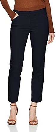 Konfektionshose - Pantalon Femme, Bleu (Marine 0375) - S (Taille Fabricant: 36)More & More
