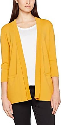 Altromercato Atrm-Cappotto, Abrigo para Mujer, Amarillo (Mostarda Mostarda), XS