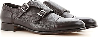 Monk Strap Shoes for Men On Sale, Dark Brown, Leather, 2017, 10 6.5 7 7.5 8 8.5 9 9.5 Henderson