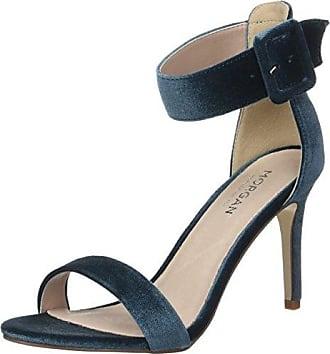 Savel, Zapatos con Tacon y Correa de Tobillo Para Mujer, Rojo (Rouge Lipstick), 39 EU Morgan